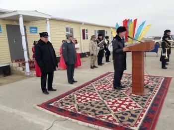 Погранзаставу «Болашак» открыли на границе Казахстана и Туркменистана