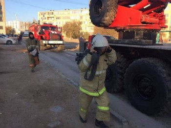 150 учеников английской школы из-за пожара эвакуированы в Актау