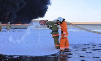 Причиной пожара в нефтебазе в Жанаозене стало нарушение производственной дисциплины - МИР РК