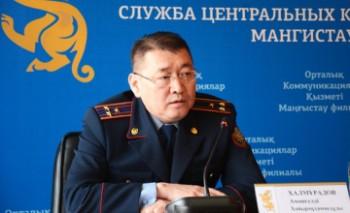 Местная полицейская служба Мангыстау за месяц выявила 18 тысяч правонарушений