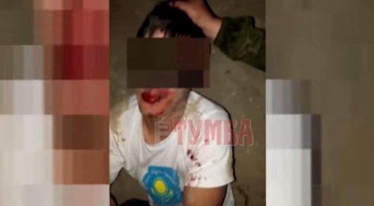 Возможного насильника 8-летней девочки в Мангистау сняли на видео