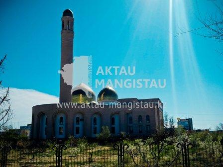 Центральная мечеть города  Актау .