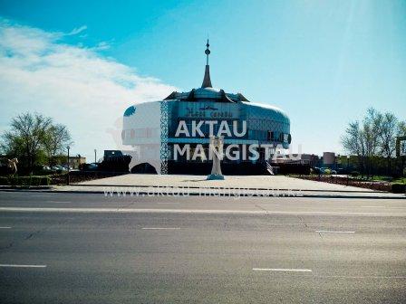 Центральная мечеть города Актау . Загс