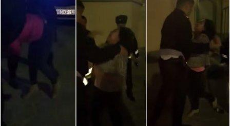 В Актау пьяные девушки подрались и оказали сопротивление полицейским