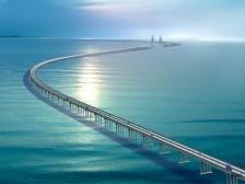 Из Казахстана над Каспием построят грандиозный мост. Мост из Казахстана в Азербайджан может появиться в скором времени
