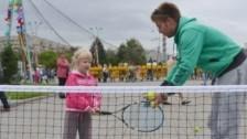 Испанские тренеры будут учить казахстанских детей играть в теннис