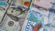 Курс доллара упал до 218 тенге