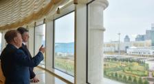 Порошенко назвал встречу с Назарбаевым блестящим моментом