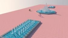 Почти 180 млн тенге потратят на установку фонтанного комплекса в Актау
