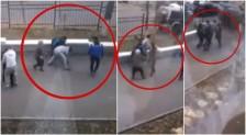 Видео с похищением невесты из колледжа в Алматы появилось в Сети