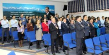 В Актау наградили 12 сотрудников департамента госдоходов