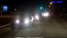 В Актау водитель снял на видео неадекватное поведение сбитого пешехода