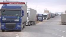 У турецких водителей отсутствуют документы на транзитный груз - морпорт Актау