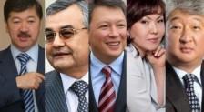 Forbes назвал имена самых богатых казахстанцев