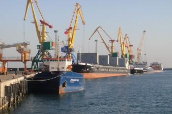 Запущена 2 очередь строительства паромного комплекса в порту Курык
