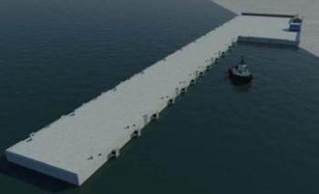 В Мангыстау на 100% завершена отсыпка участка для пирса ВМС РК