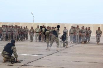В Актау военнослужащие-авиаторы приняли присягу (ФОТО)