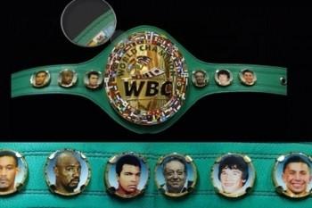 Головкин и флаг Казахстана появились на поясе WBC