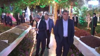 Как Рахмон встречал Назарбаева и других президентов