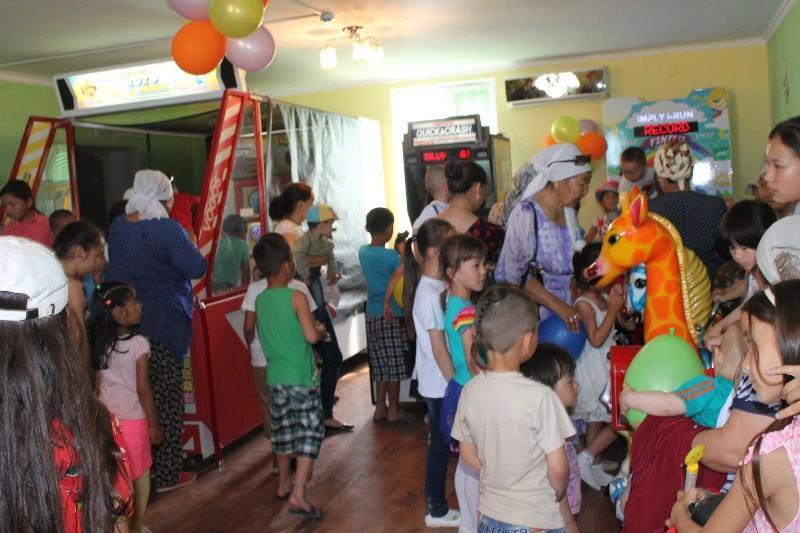 В с.Акшукур Мангыстауской области открылся первый развлекательный центр для детей