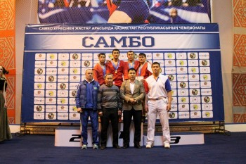 Два самбиста из г. Актау стали победителями чемпионата РК (ФОТО)
