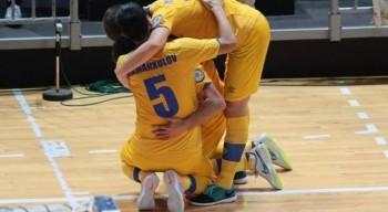 Сборная Казахстана по футзалу разгромила Боснию и Герцеговину