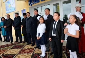 В Мангыстау открыли школу на 1200 мест и детский сад на 280 мест (ФОТО)