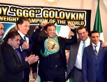 Головкину вручили пояс абсолютного чемпиона мира по версии WBC