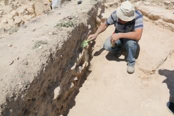 Скелет древнего морского животного нашли актауские школьники