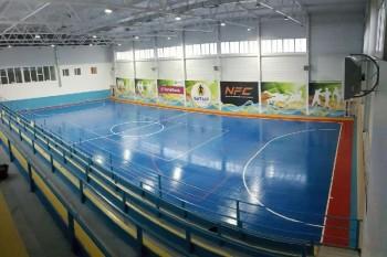 На побережье Каспия в Мангыстау открыли современный спорткомплекс (ФОТО)
