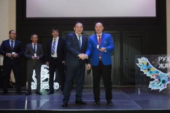 В Актау наградили лучших спортсменов
