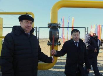 В Мангыстауской области введен газопровод высокого давления «Таушык-Жынгылды»