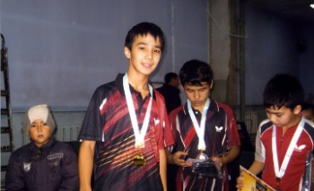 Теннисист из Актау впервые получил «золото» международного турнира в Алматы