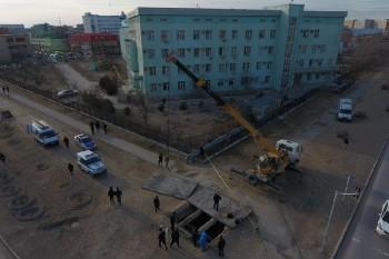 Полицейские извлекли труп из коллектора теплотрассы в Актау