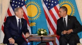 Нурсултан Назарбаев встретился с Бараком Обамой в США