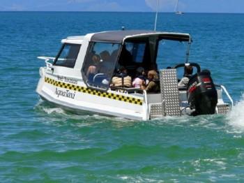 Водное такси появится в Актау