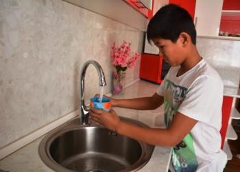 Новый водопровод ввели в эксплуатацию в с. Даулет Мангыстауской области