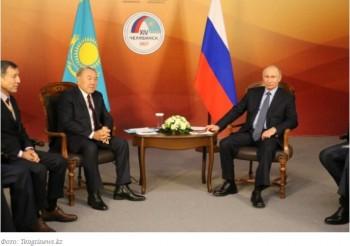 """""""Повод для встречи хороший"""". О чем Назарбаев поговорил с Путиным"""